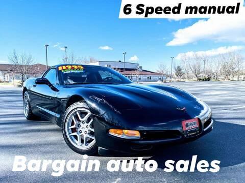 2000 Chevrolet Corvette for sale at Bargain Auto Sales LLC in Garden City ID