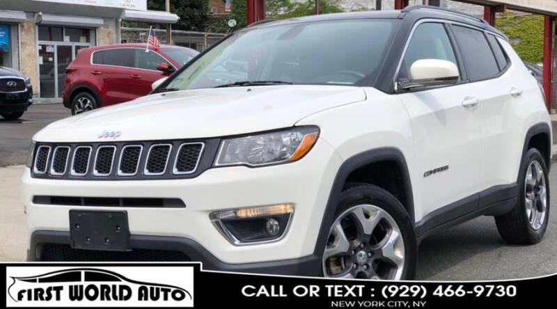 2018 Jeep Compass for sale at First World Auto in Jamaica NY