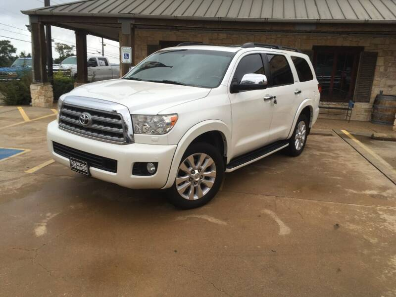 2016 Toyota Sequoia for sale at Tyler Car  & Truck Center in Tyler TX