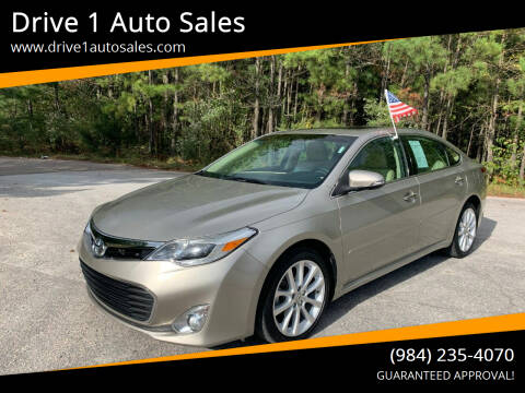 2013 Toyota Avalon for sale at Drive 1 Auto Sales in Wake Forest NC