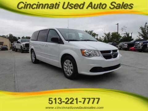 2017 Dodge Grand Caravan for sale at Cincinnati Used Auto Sales in Cincinnati OH