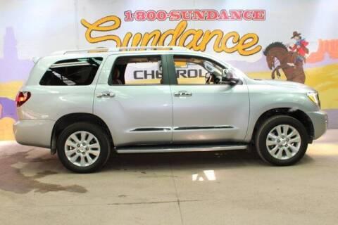 2021 Toyota Sequoia for sale at Sundance Chevrolet in Grand Ledge MI