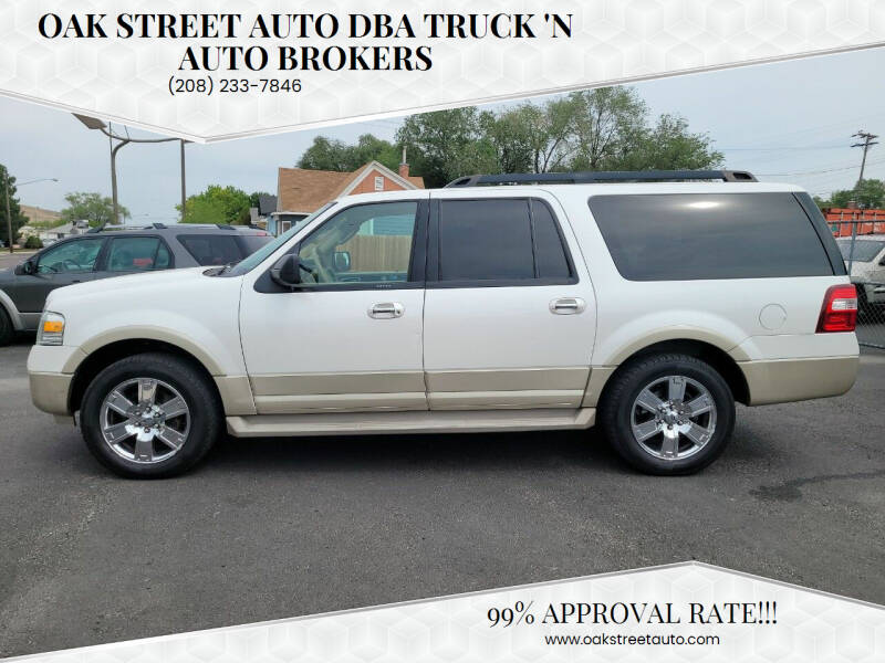 2010 Ford Expedition EL for sale at Oak Street Auto DBA Truck 'N Auto Brokers in Pocatello ID