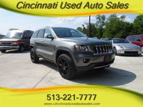 2012 Jeep Grand Cherokee for sale at Cincinnati Used Auto Sales in Cincinnati OH