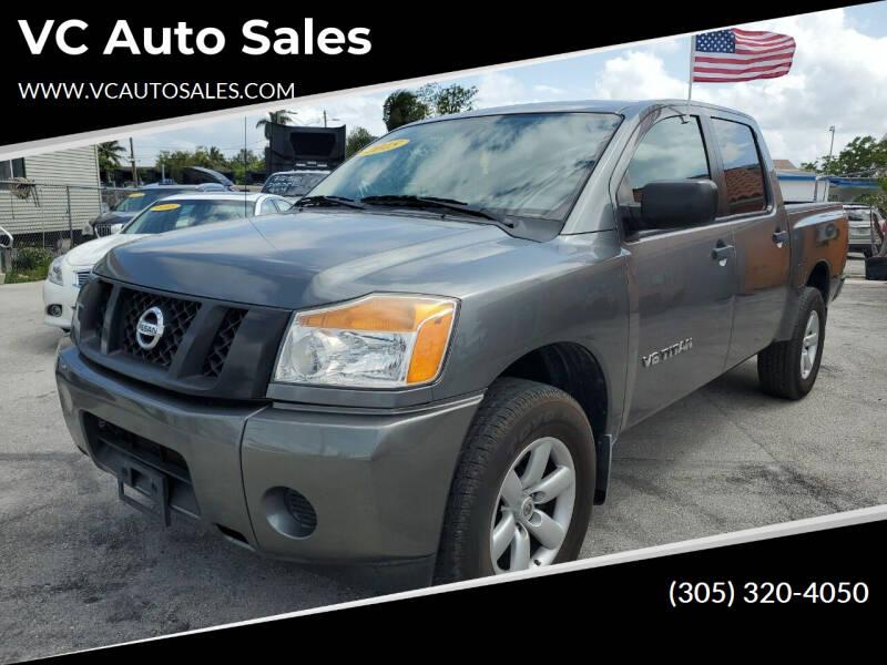 2015 Nissan Titan for sale at VC Auto Sales in Miami FL