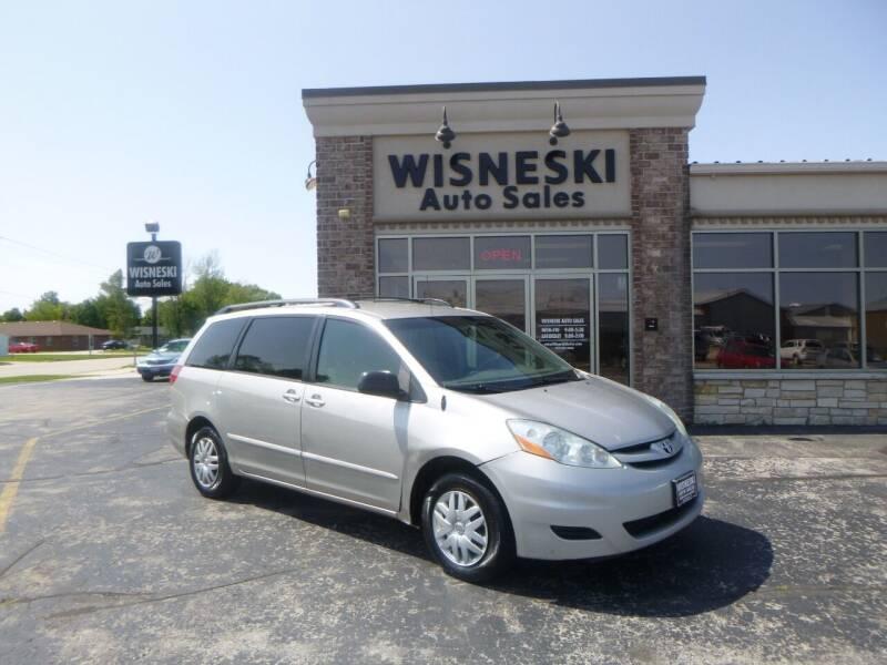 2006 Toyota Sienna for sale at Wisneski Auto Sales, Inc. in Green Bay WI