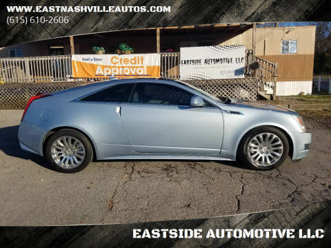 2013 Cadillac CTS for sale at EASTSIDE AUTOMOTIVE LLC in Nashville TN