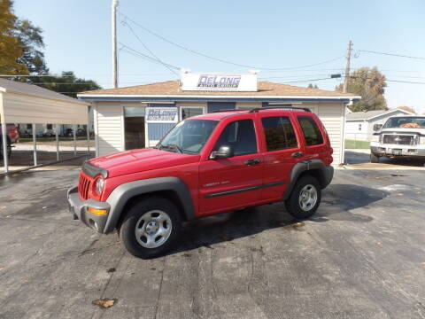 2003 Jeep Liberty for sale at DeLong Auto Group in Tipton IN