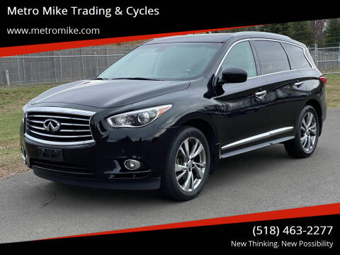 2013 Infiniti JX35 for sale at Metro Mike Trading & Cycles in Albany NY