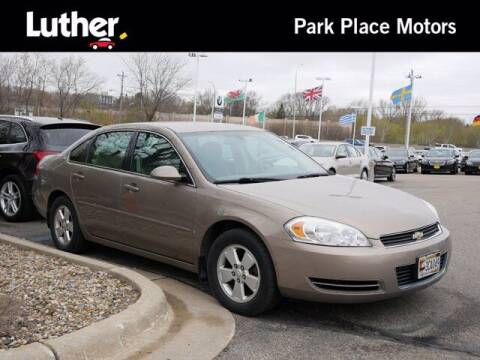 2007 Chevrolet Impala for sale at Park Place Motor Cars in Rochester MN