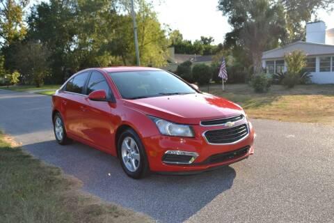 2015 Chevrolet Cruze for sale at Car Bazaar in Pensacola FL