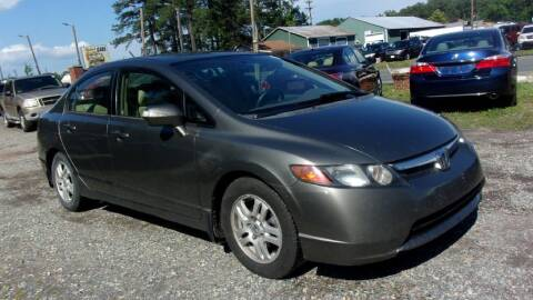 2007 Honda Civic for sale at Select Cars Of Thornburg in Fredericksburg VA
