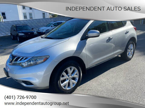 2011 Nissan Murano for sale at Independent Auto Sales in Pawtucket RI