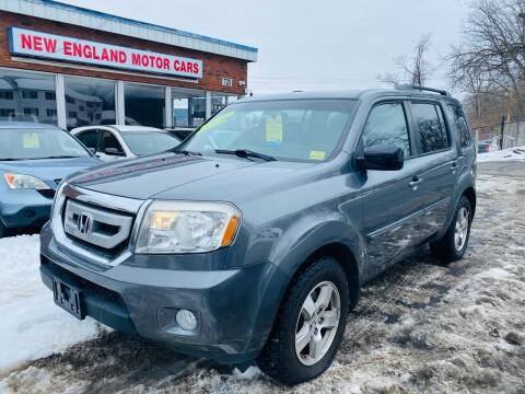 2011 Honda Pilot for sale at New England Motor Cars in Springfield MA