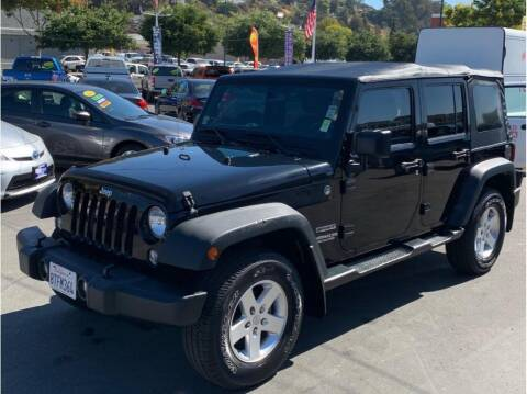 2014 Jeep Wrangler Unlimited for sale at AutoDeals in Hayward CA