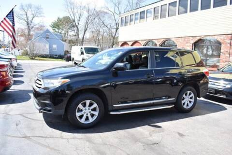2013 Toyota Highlander for sale at Absolute Auto Sales, Inc in Brockton MA