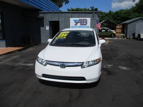 2006 Honda Civic for sale at AUTO BROKERS OF ORLANDO in Orlando FL