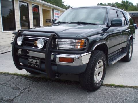 1998 Toyota 4Runner for sale at Worthington Motor Co, Inc in Clinton TN