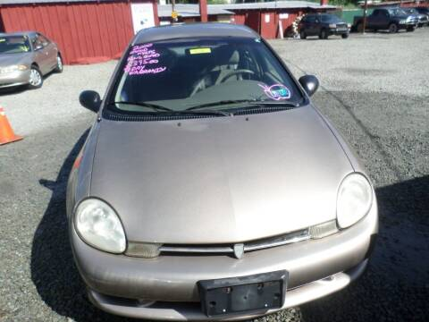 2000 Plymouth Neon for sale at FERNWOOD AUTO SALES in Nicholson PA