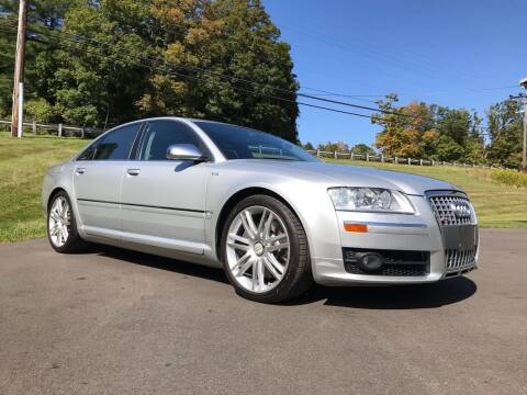 2007 Audi S8 for sale at EuroMotors LLC in Lee MA
