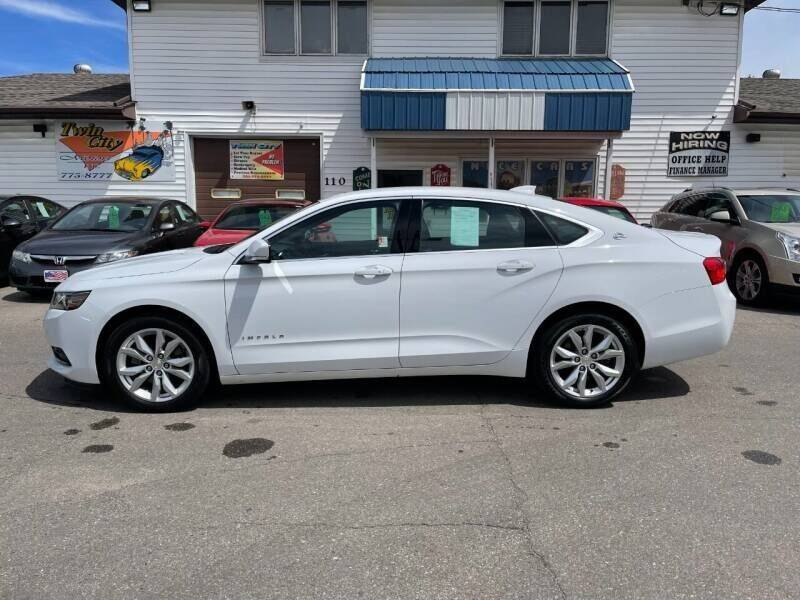 2018 Chevrolet Impala for sale at Twin City Motors in Grand Forks ND