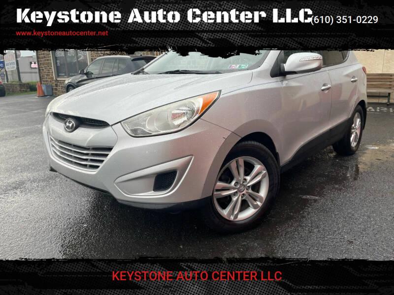 2012 Hyundai Tucson for sale at Keystone Auto Center LLC in Allentown PA
