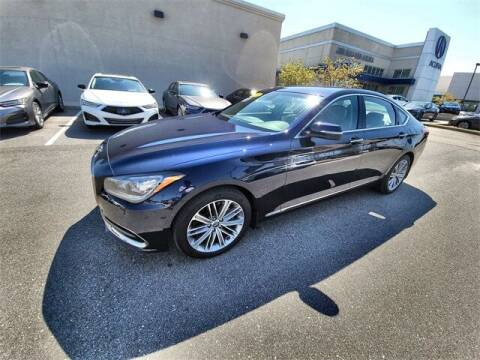 2018 Genesis G80 for sale at JOE BULLARD USED CARS in Mobile AL