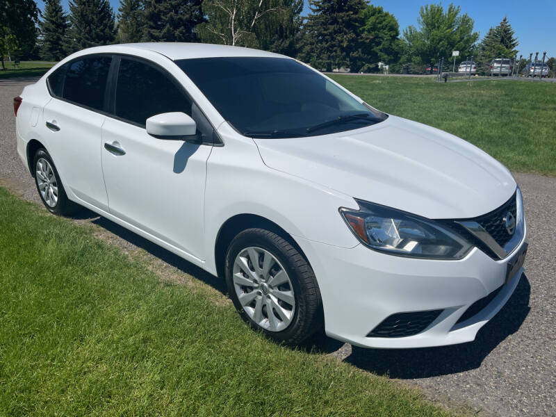 2017 Nissan Sentra for sale at BELOW BOOK AUTO SALES in Idaho Falls ID