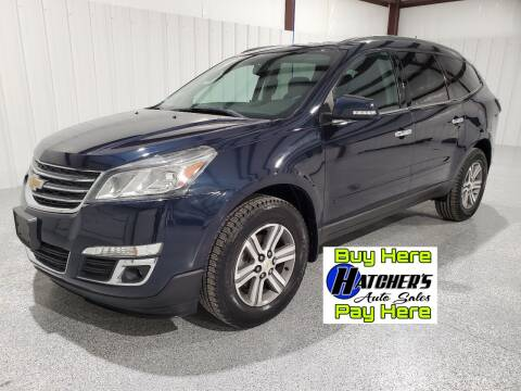 2015 Chevrolet Traverse for sale at Hatcher's Auto Sales, LLC - Buy Here Pay Here in Campbellsville KY