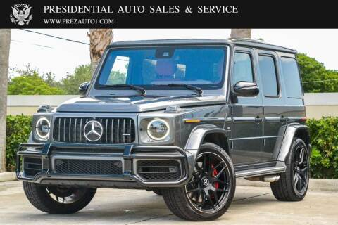 2020 Mercedes-Benz G-Class for sale at Presidential Auto  Sales & Service in Delray Beach FL