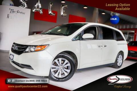 2016 Honda Odyssey for sale at Quality Auto Center in Springfield NJ