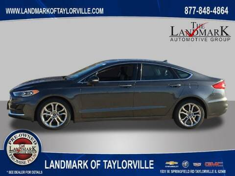 2019 Ford Fusion for sale at LANDMARK OF TAYLORVILLE in Taylorville IL