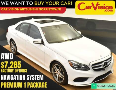 2014 Mercedes-Benz E-Class for sale at Car Vision Mitsubishi Norristown in Norristown PA