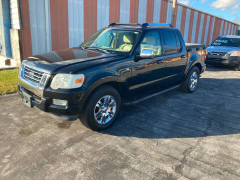 2008 Ford Explorer Sport Trac for sale at Country Auto Sales Inc. in Bristol VA