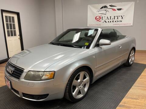 2006 Audi A4 for sale at Quality Autos in Marietta GA