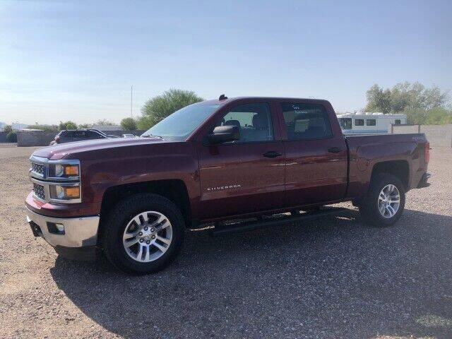2014 Chevrolet Silverado 1500 for sale at Autos by Jeff in Peoria AZ