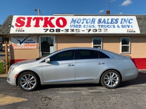 2013 Cadillac XTS for sale at SITKO MOTOR SALES INC in Cedar Lake IN