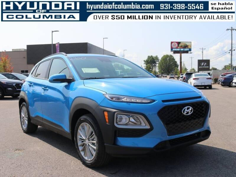 2021 Hyundai Kona for sale at Hyundai of Columbia Con Alvaro in Columbia TN