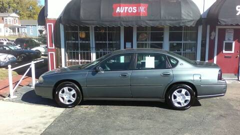 2004 Chevrolet Impala for sale at Autos Inc in Topeka KS