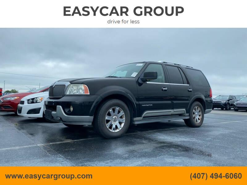 2003 Lincoln Navigator for sale at EASYCAR GROUP in Orlando FL