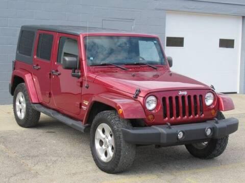 2013 Jeep Wrangler Unlimited for sale at K&M Wayland Chrysler  Dodge Jeep Ram in Wayland MI