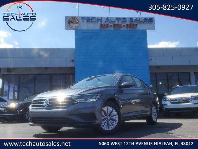 2020 Volkswagen Jetta for sale at Tech Auto Sales in Hialeah FL