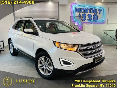 2018 Ford Edge for sale at LUXURY MOTOR CLUB in Franklin Square NY