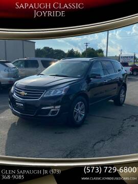 2016 Chevrolet Traverse for sale at Sapaugh Classic Joyride in Salem MO