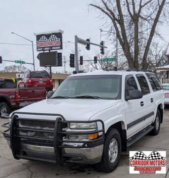 2003 Chevrolet Suburban for sale at Corridor Motors in Cedar Rapids IA