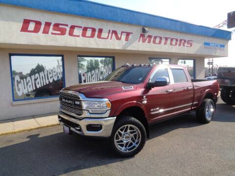2019 RAM Ram Pickup 3500 for sale at Discount Motors in Pueblo CO