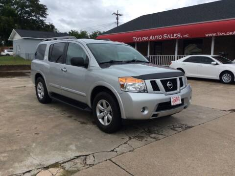 2015 Nissan Armada for sale at Taylor Auto Sales Inc in Lyman SC