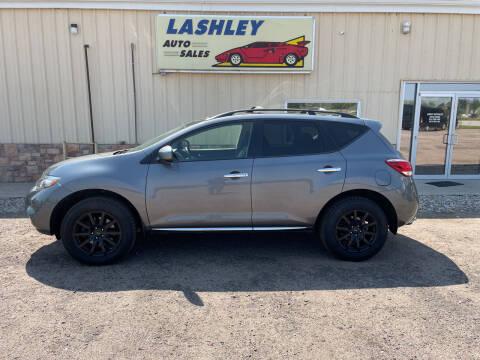 2014 Nissan Murano for sale at Lashley Auto Sales in Mitchell NE
