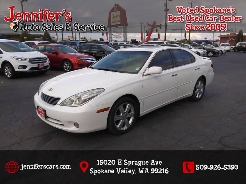 2005 Lexus ES 330 for sale at Jennifer's Auto Sales in Spokane Valley WA