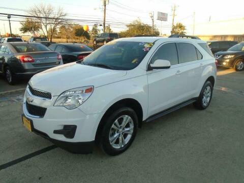 2012 Chevrolet Equinox for sale at BAS MOTORS in Houston TX